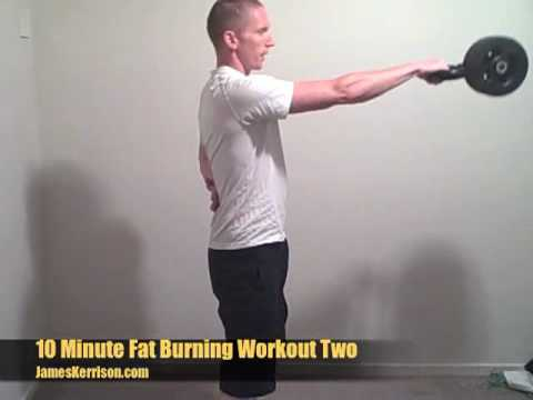10 Minute Fat Burning Workout With Hobart Personal...