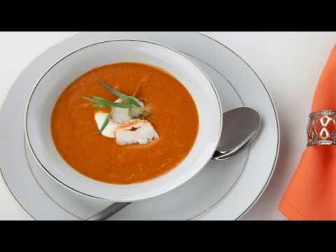recette-:-entrée-chaude-à-la-bisque-de-homard