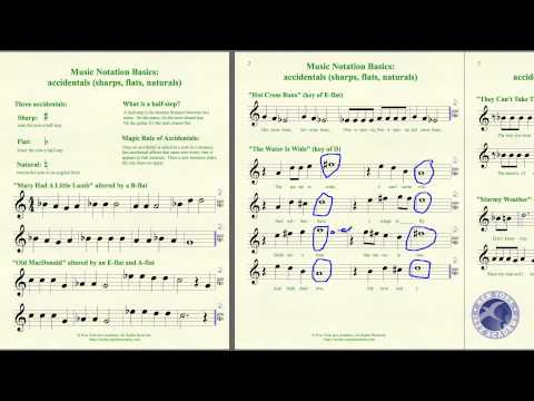 Music Notation Basics Topic 4 LECTURE (NYJA Online)