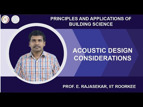 ACOUSTIC DESIGN CONSIDERATIONS