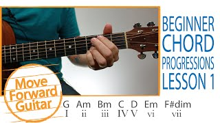Guitar for Beginners - Chord Progressions Theory - Lesson 1 Mp3