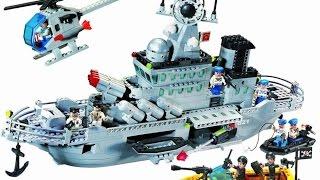 Обзор: Brick 821 Ракетный крейсер.  Китайское ЛЕГО?  ЧТОООО??