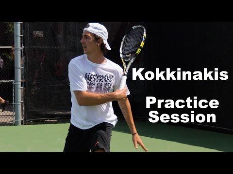 Kokkinakis I Practice Session  2015
