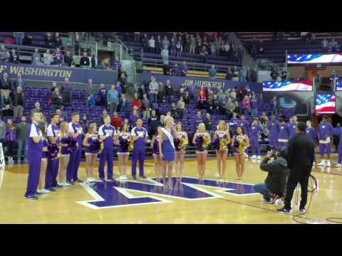 Joell Posey Grager - National Anthem, UW Husky Men