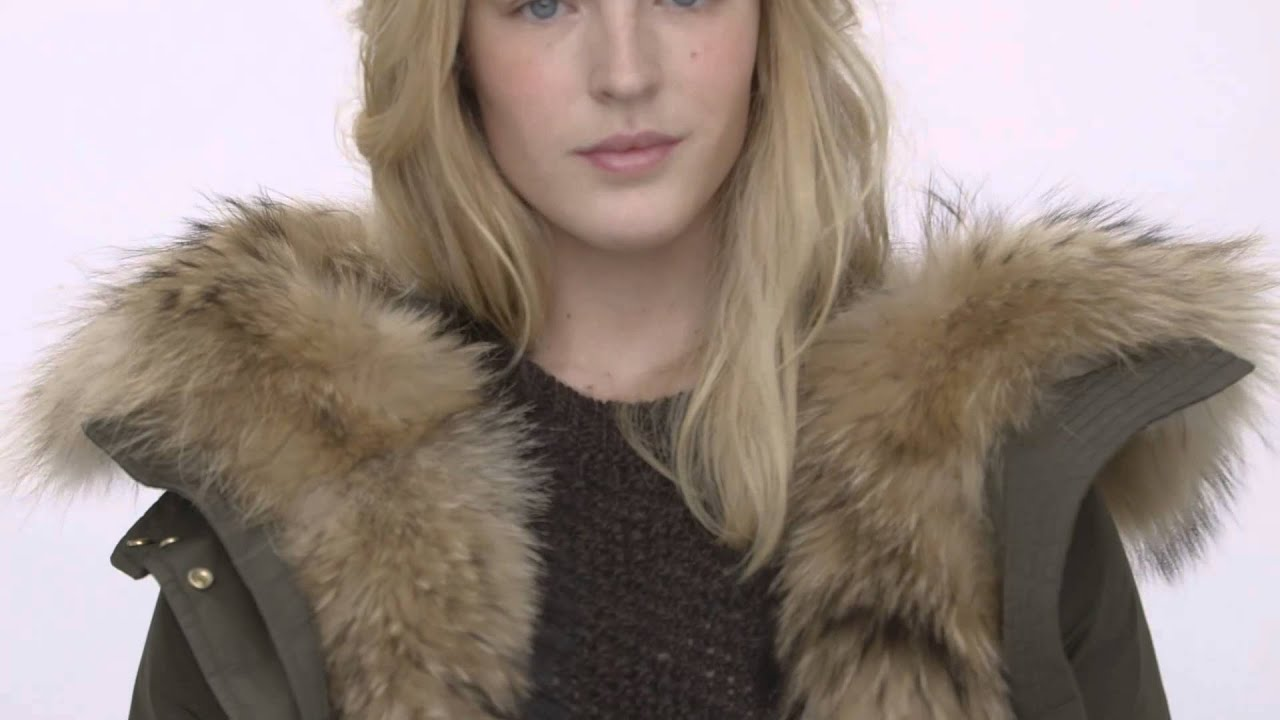 Beautiful Woolrich FW15 Woman: Military Eskimo - YouTube OV64