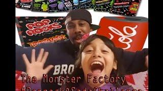 Monster Factory Ep.1 #Poprocks&SodaChallenge