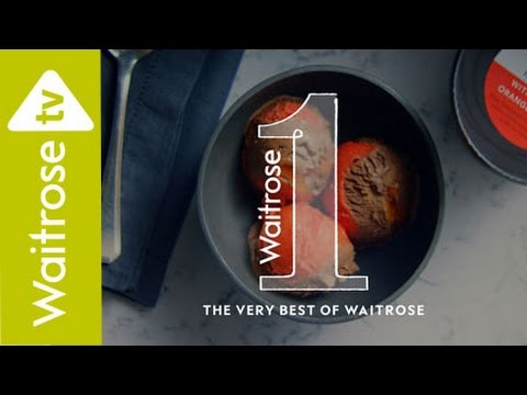 Waitrose 1 Tanzanian Chocolate Ice Cream And Italian Blood Orange Sorbet | TV Ad