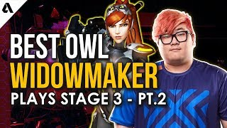 Best Overwatch League Widowmaker Plays - OWL Stage 3 Pt. 2
