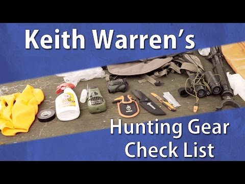 Keith Warren's Hunting Gear Checklist - OpticsPlanet.com