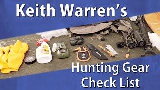 Essential Hunting Gear