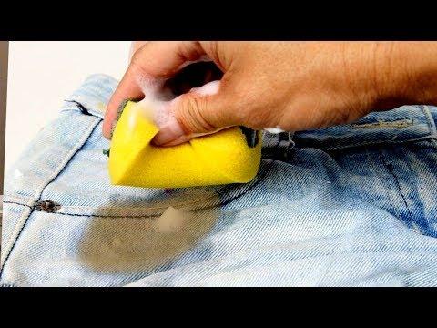Чем отстирать ржавчину с одежды