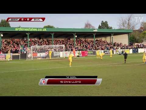 Chris Lloyd Goal - Bromsgrove Sporting vs Buckland Athletic - FA Vase