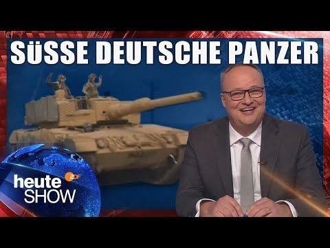 Mit deutschen Panzern: Die Türkei greift die syrischen Kurden an   heute-show vom 26.01.2018