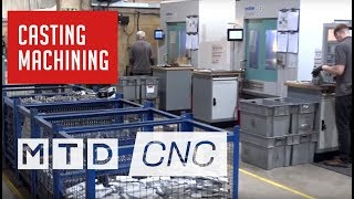 Diecasting and CNC Machining all streamlined thanks to Industry 4.0 at MRT