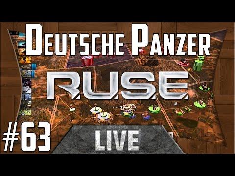 R.U.S.E Live // Deutsche Panzer #63 // (German/Deutsch)