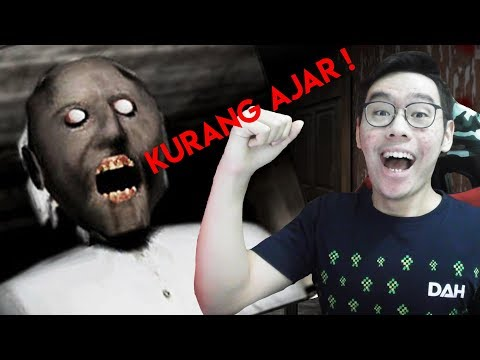 KALAHIN GRANNY DENGAN CARA LAIN ! - GRANNY HORROR GAME INDONESIA #2