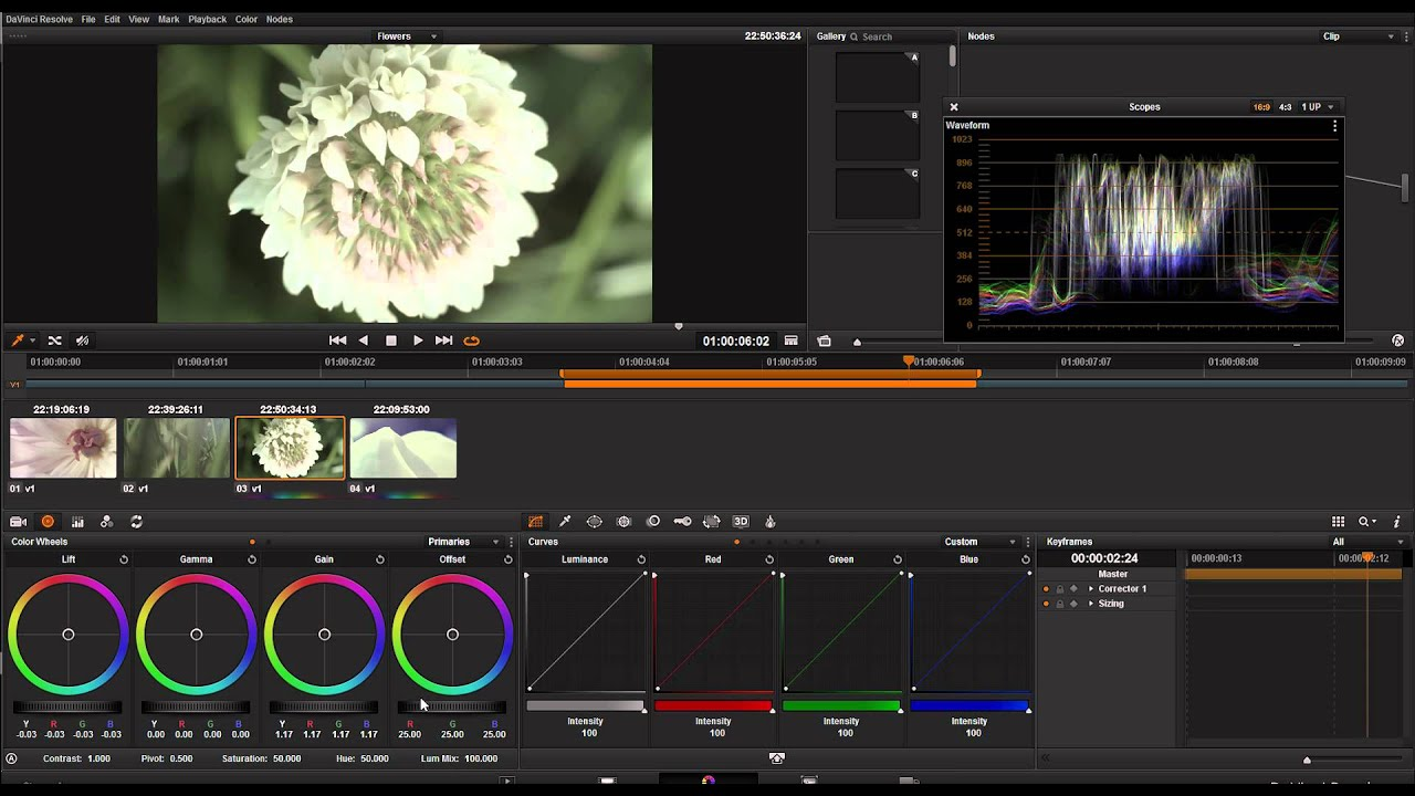 Davinci Resolve Tutorial - The very basics of Davinci ...