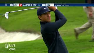 Cameron Champ Round 1 2021 AT&T Byron Nelson