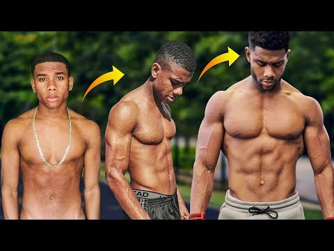 Skinny to Ripped My Natural Transformation (EXPLAINED)