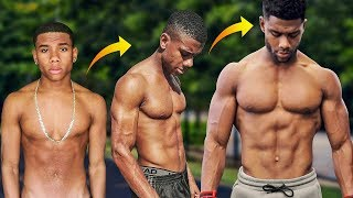 Skinny to Ripped - My Natural Transformation (EXPLAINED)