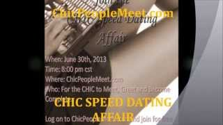 The CHIC Online Speed Dating Affair