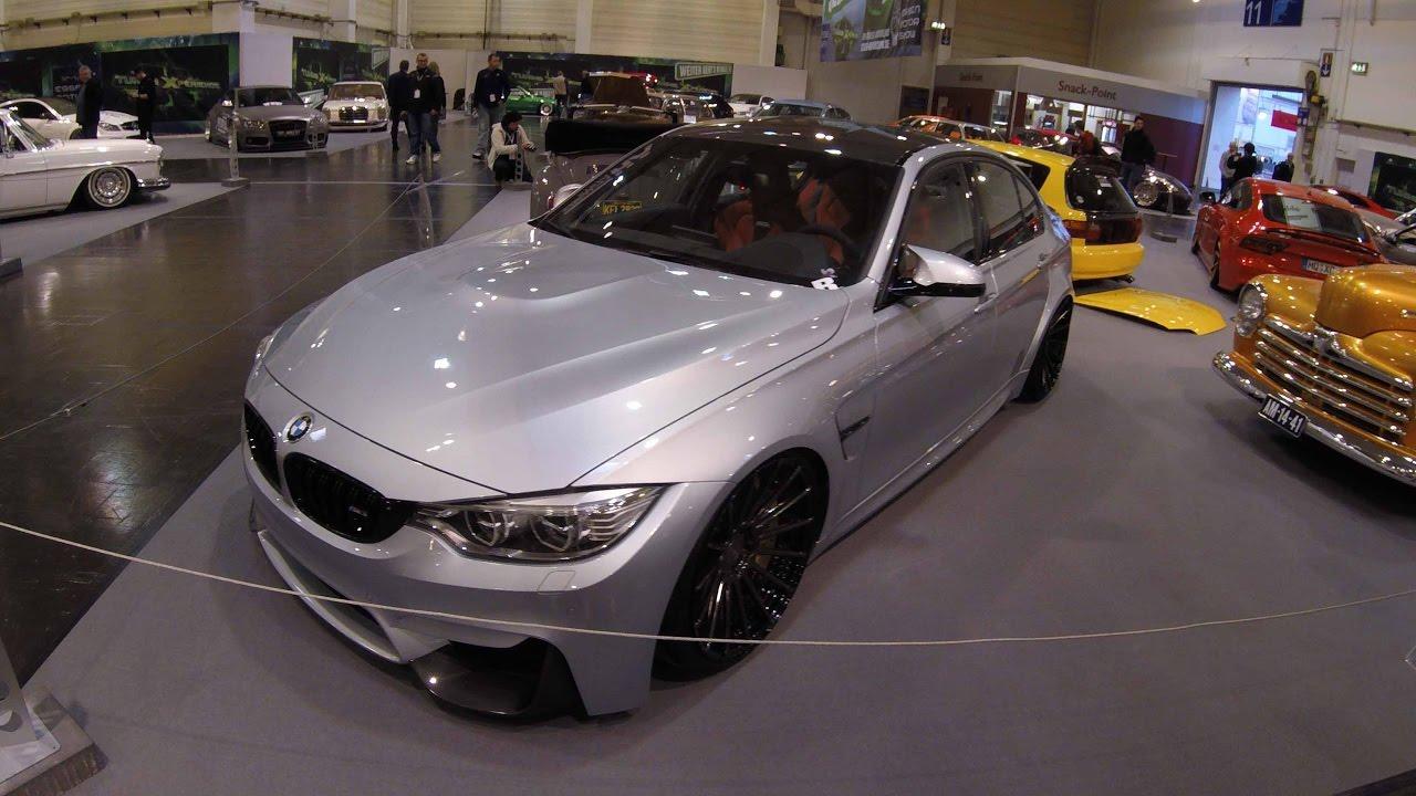 bmw m3 f80 sedan 3 series silver colour tuning car walkaround youtube. Black Bedroom Furniture Sets. Home Design Ideas
