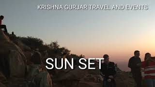 || SUN SET PUSHKAR || KRISHNAGURJAR TRAVEL AND EVENTS ||