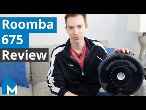 Roomba 675 Review Best Budget Robot Vacuum On The Market Youtube