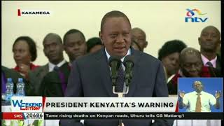 President Kenyatta: Government will ensure no exam cheating