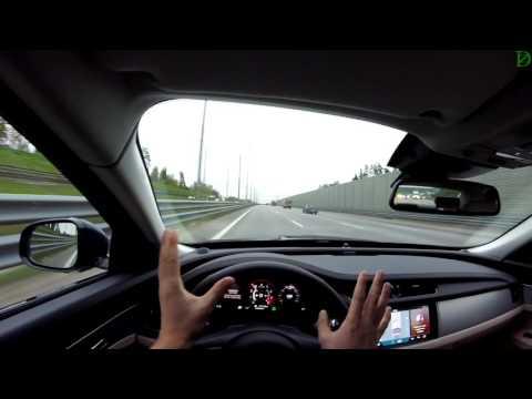 Jaguar XF - счастье на трассе