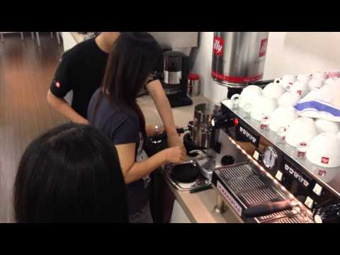illy Coffee Expert Workshop Practise Session with Shall Way & Gladys