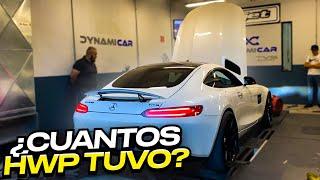 SUBÍ MI AMG GTS AL DYNO Y ASÍ NOS SORPRENDIÓ.. | ManuelRivera11