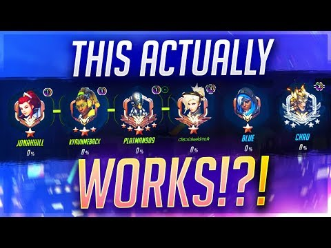 THIS TROLL COMP ACTUALLY WORKS IN GM!? Overwatch 5 Supports & 1 Junkrat vs GOATS! thumbnail
