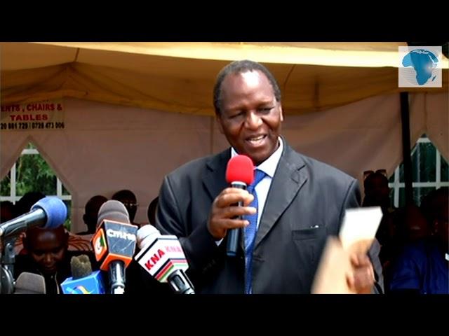 Moi University Vice Chancellor, Dean of student eulogise Ivy Wangeci