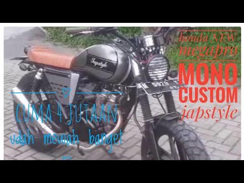 Modif New megapro japstyle low budget.