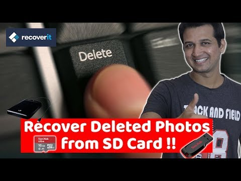How To Recover Deleted Photos From SD Card - Download Free Data Recover Software | Recoverit Free