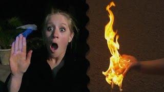 CRAZY FIRE TRICK!!! *DO NOT ATTEMPT*