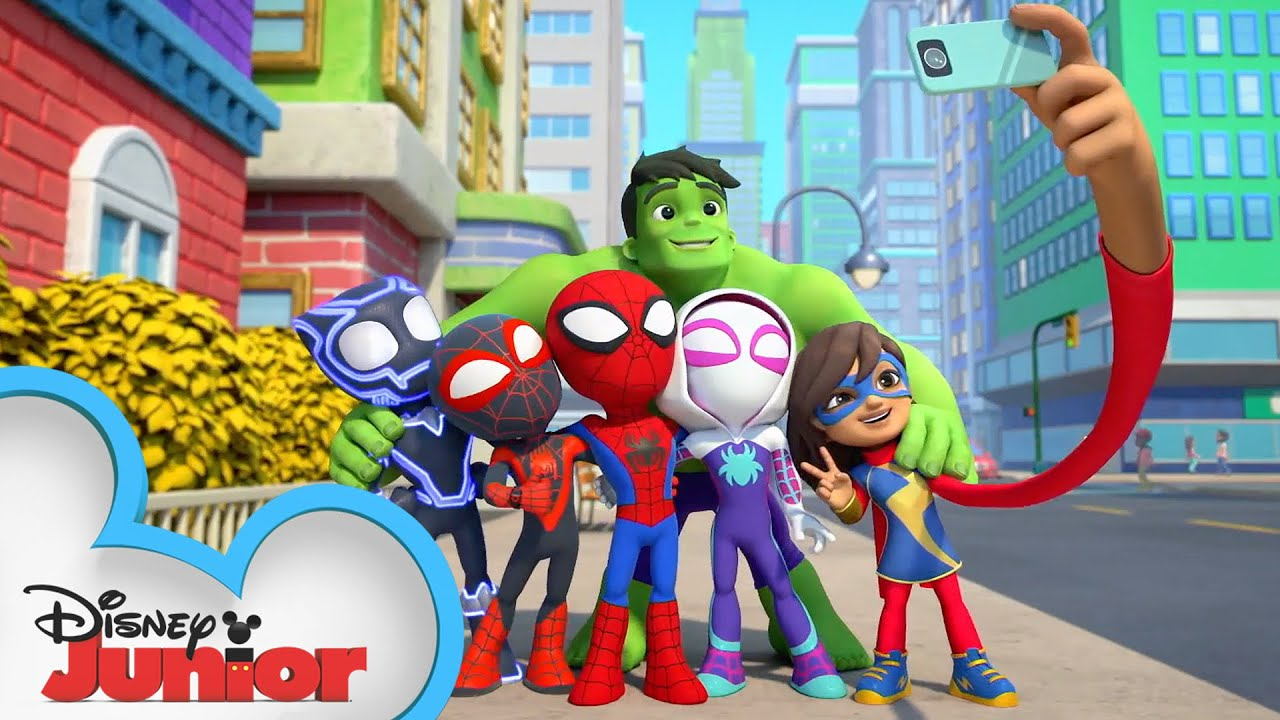 Download Tease | Marvel's Spidey and His Amazing Friends | @Disney Junior  @Marvel HQ