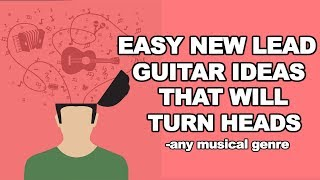Guitar Lesson on EZ head turning lick devices and ideas - blues rock country any genre!