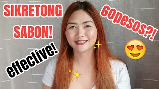 THE BEST WHITENING SOAP SO FAR?!PHILIPPINES| Kristel Fai