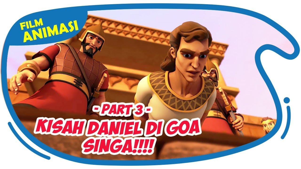 Tuhan menyelamatkan Daniel dari Goa Singa - Superbook