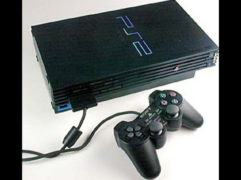 unboxing ebay Sony PlayStation 2 Black Console Fat System ...