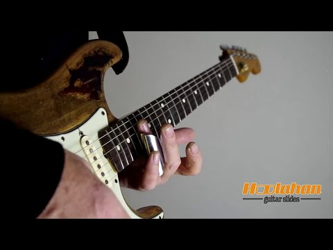 Guitar Slide Technique    Using the Hoolahan Guitar Slide