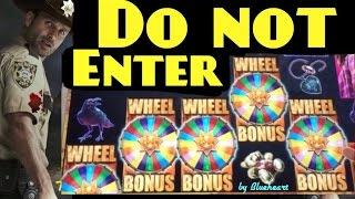 The WALKING DEAD slot machine Max bet 5 BONUS SYMBOLS BIG WIN!