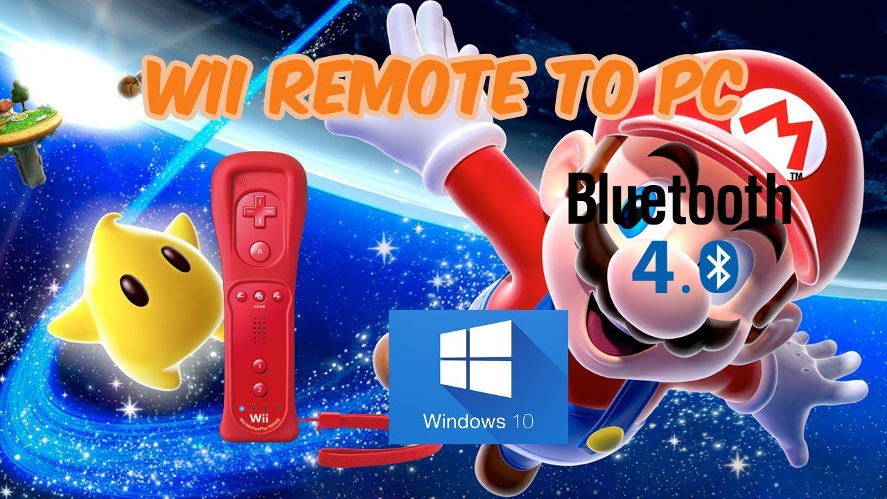 How to connect a Wii Remote to a Pc Windows 10 2018 (Bluetooth V4 0)
