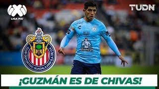 ¡Bombazo de las Chivas! Víctor Guzmán llega al Guadalajara I TUDN