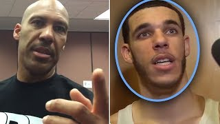 "Lonzo Ball Says ""Lavar Is A SCAMMER And BBB Is A SCAM"" And Lavar Ball DISOWNS HIM & Alan FIRES BACK"