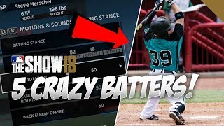 5 Crazy Batting Stances to Re-create in MLB The Show 18 Batting Stance Creator