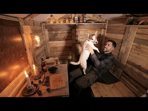 Log Cabin Life: Alone with my Dog in the Off Grid Cabin