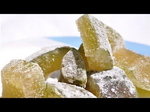 Curso Como Produzir Frutas Cristalizadas - Receita de Mamão Cristalizado